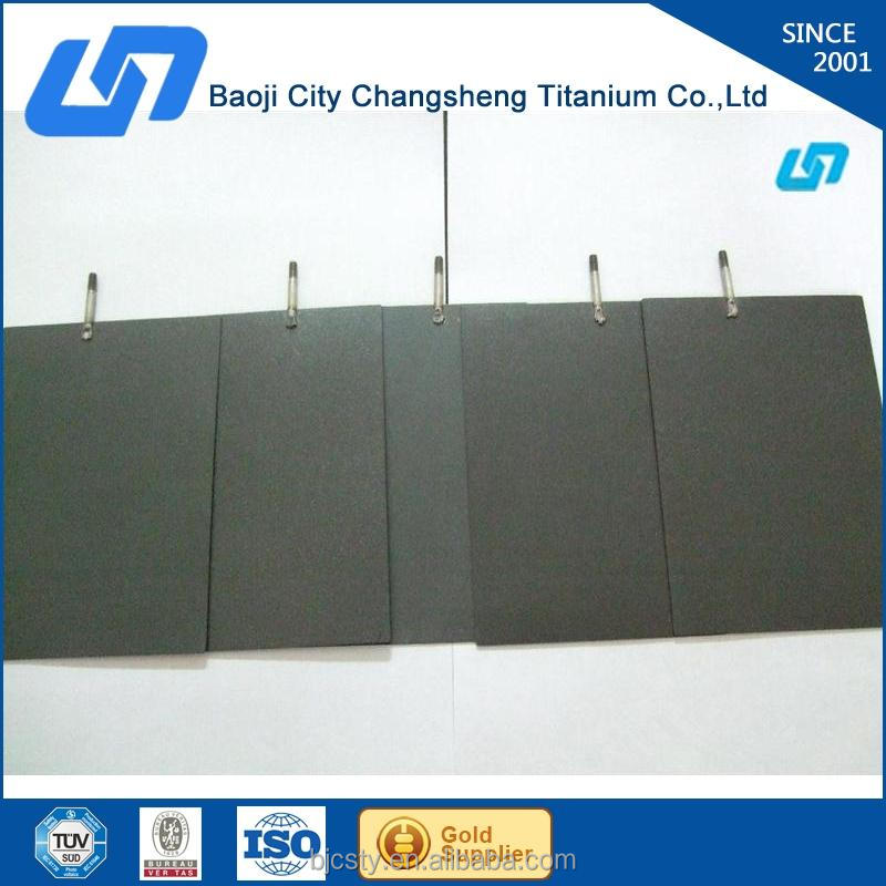factory price supply platinum plated titanium anode manufacture in China