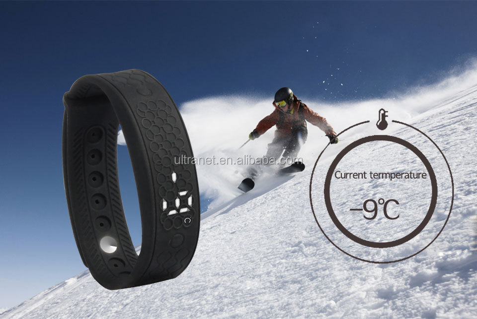 Timer wristband heart rate monitor Bluetooth4.0 Smart Bracelet with Pedometer Sleep Monitoring Calorie-burning Counter