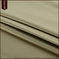 China manufacturer durable blackout curtains fabric satin plain