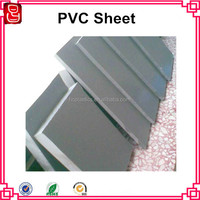 Rigid PVC Board Grey PVC Partition Board