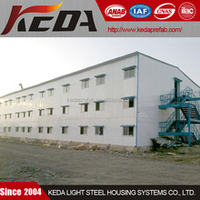 Multi Storeys Labor Camp House Prefabricated for Workers Accommodation
