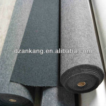 Summer sale 5mm thickness Velour auto carpet non woven felt in rolls
