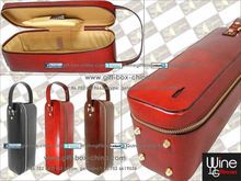 Faux leather wine carrier collection