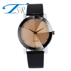 2018 Minimalist style creative wrist watches black & white new design Dot and Line simple stylish quartz fashion watches