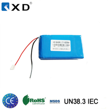 shenzhen 6000mah li polymer battery with 3.7v voltage