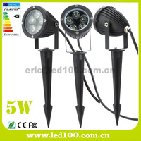 Outdoor IP65 Spike LED Yard Light 5W CE ROHS