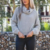 AL2865W Cute long sleeve new fashion knitted pullover loose jumper crop top ladies knit sweater