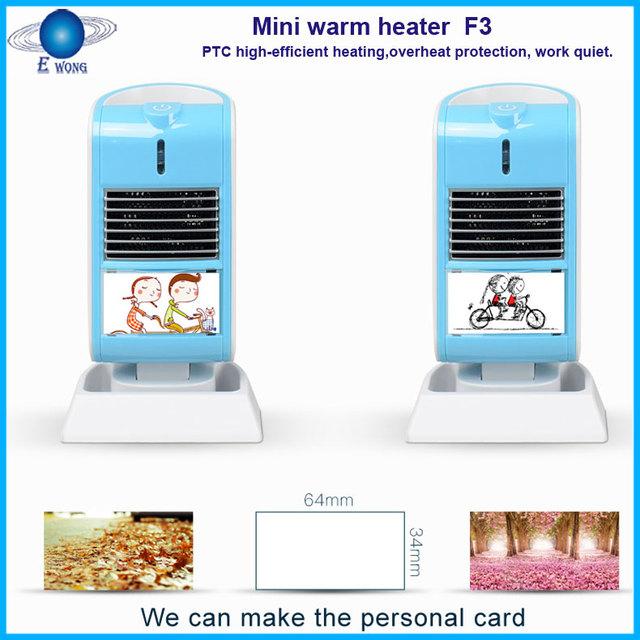 Mini heater Fan Innovative new hot selling mini electric fan mica heater