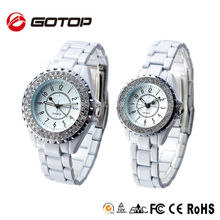 High quality Swiss Automatic Movement branded Cheap Ceramic Case Watches for Couple Gift