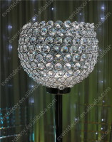 Pillar crystal candle holder wholesale ,crystal candlesticks centerpieces for wedding table
