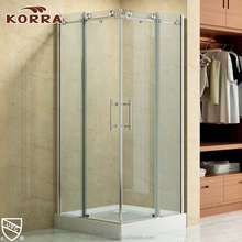 Hot sale cheap sanitary bathroom portable enclosed shower room small sliding glass shower enclosure