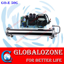 high voltage water cooled ozone generator cell parts 50g/h