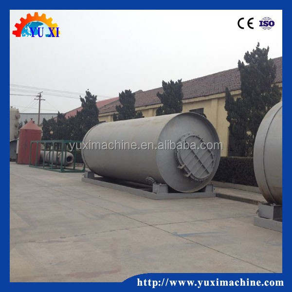fully Waste used oil cleaning systems for tire pyrolysis