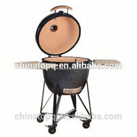 hot selling new industrial glzaed kamado bbq grill