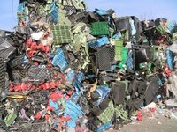 Mixed Plastics scrap PE PP