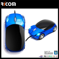new 1000DPI Car shaped computer mouse USB 3D Optical wired Mouse for Computer mouse Laptop and desktop