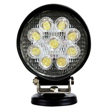 auto off road 27w 9 pieces epistar led working light led 9-32v 4wd work light flood lamp truck car boat bar 4x4