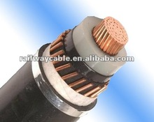 Underground 33kv high voltage XLPE insulated power cable