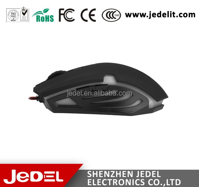 Durable 6D Optical Game Mouse/Gaming Mouse For Game With 2000DPI Made In China