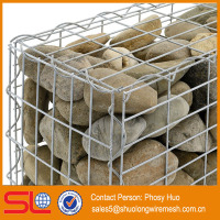 ISO9001 Welded Gabion Wire Basket For Stone Retaing Wall
