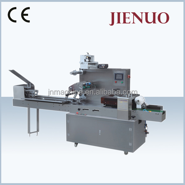 Semi-Automatic toast bread packing Sealing and cutting pillow food Packing Machine