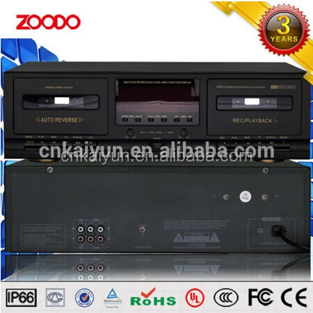 JS-2215 Background Music Player Stereo Double Cassette Deck Player