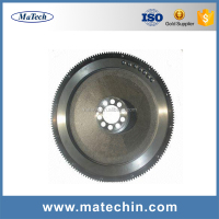 Good Quality Custom Alloy Steel Casting Heavy Truck Engine Flywheel