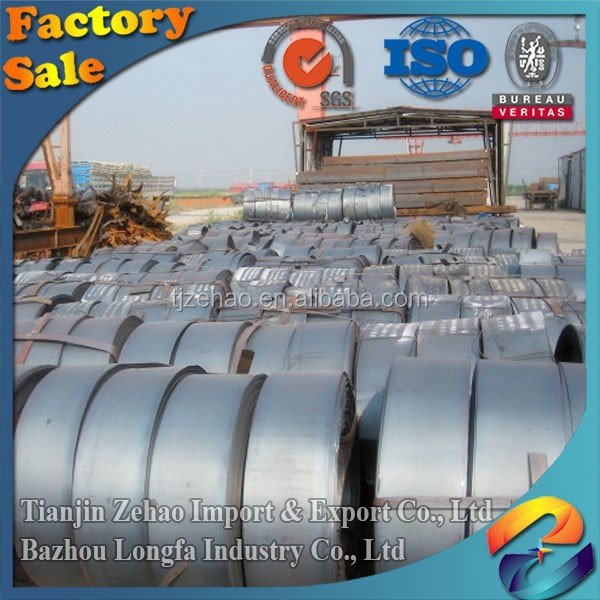 2016 Large Stock Sheet Metal SPHC Hot-Rolled Plate Steel in Coil