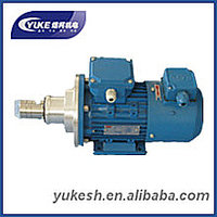 heat gear pump for drill rig head
