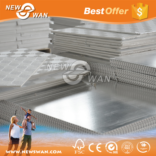 Acoustic panel price / gypsum suspended false ceiling tiles