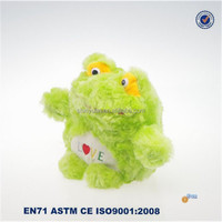 Low cost toys china soft plush frog wholesale