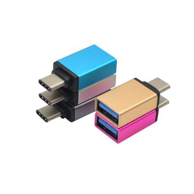 Hot selling metal usb 3.1 type <strong>c</strong> male to micro usb female data charger converter adapter