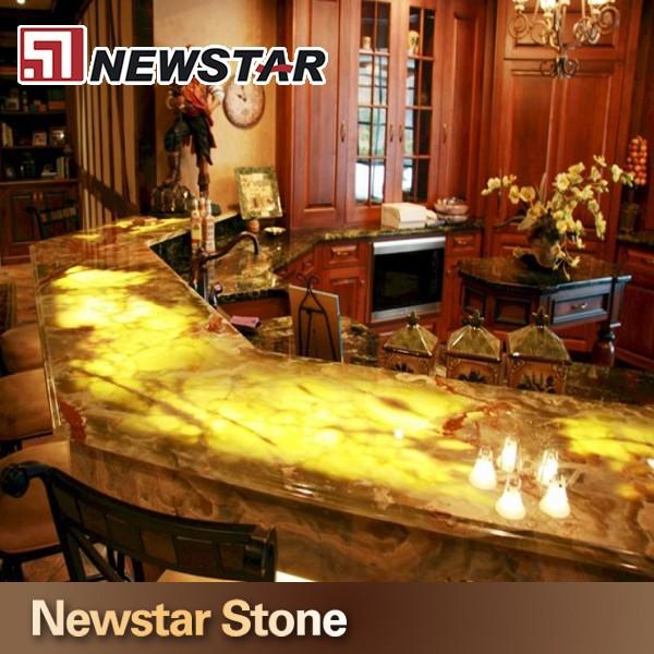 backlit onyx kitchen countertop stone - buy onyx kitchen