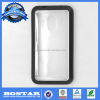 customized double color PC +TPU material phone protector case for Nokia 620