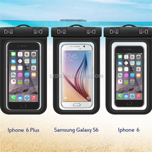 TPU eco-friendly smart phone waterproof dry bag,pvc underwater mobile case