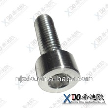 a286 stainless steel cone point hex socket head special screws M10 all thread rod M36 hex bolts and nuts