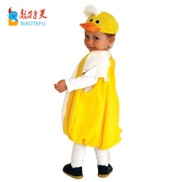 baby boys girls animal mascot rhubarb duck cosplay rompers costume