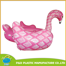custom pool float Inflatable water pool toys pvc pink flamingo