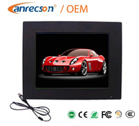 Widescreen small lcd computer monitor for bus media player