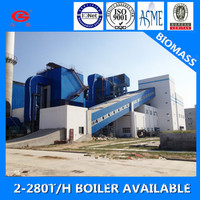 DHL 45t 1.6MPa Corner Tube Coal Pellet Fuel Steam Boilers For Sale