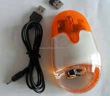 China Factory 2016 fancy computer accessory liquid pc mouse