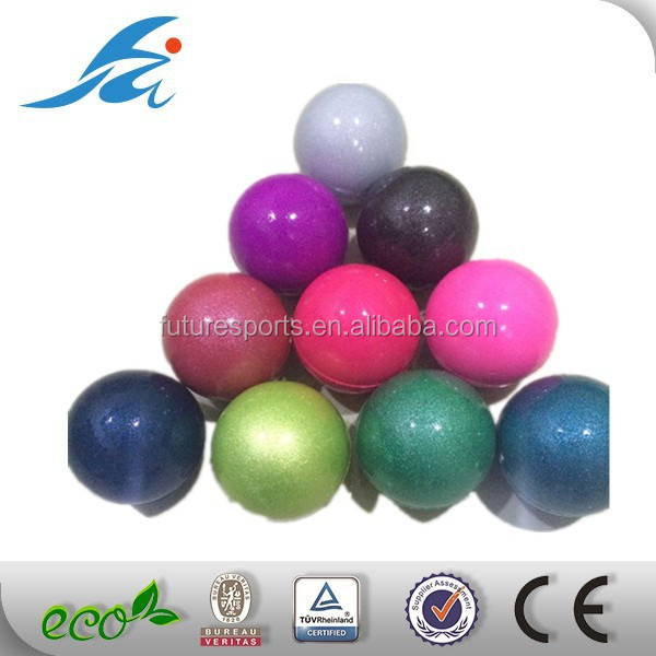 47mm rubber sponge ball with glossy coating