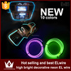 lightpoint multi color el wire car lighting EL wire electro-luminescent products color neon el wire for decoration