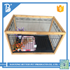 High quality new design large stainless steel pet dog cage