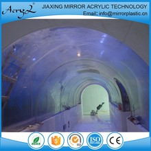 Hot Selling Fashionable Big Acrylic Oval Aquarium Fish Tank