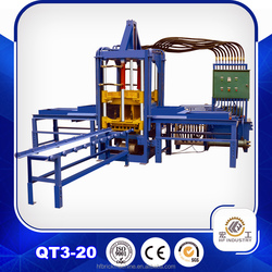 QTF3-20 cement brick machine cost