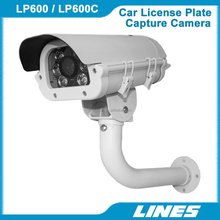 600TVL HD IR Car License Plate Capture Camera