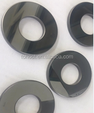 Mirror polish silicon carbide ssic Rbsic sic ceramic disc plate ring