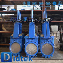 Specialized Production Didtek 100% Test Slurry Knife gate valve 32 inch