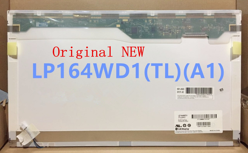 Original New lcd display replacement for laptop LP164WD1-TLA1